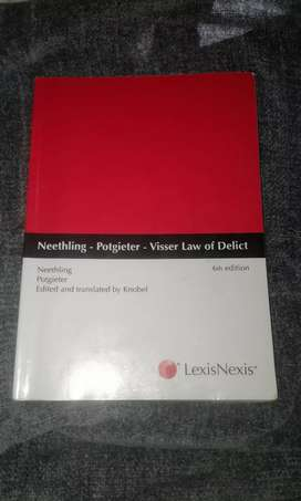 Neethling - Potgieter - Visser Law of Delict 6e