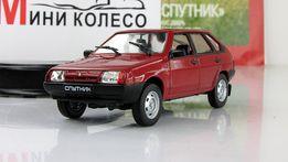 Модель-игрушка ВАЗ 2109 -Автолегенды СССР