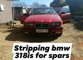 Stripping bmw 318is E36