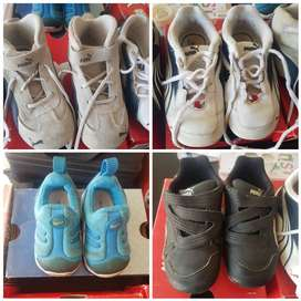 Baby and toddler assorted branded shoes