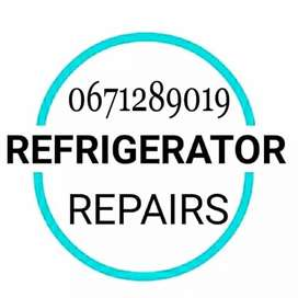 Fridge freezers repairs and gas refill on-site