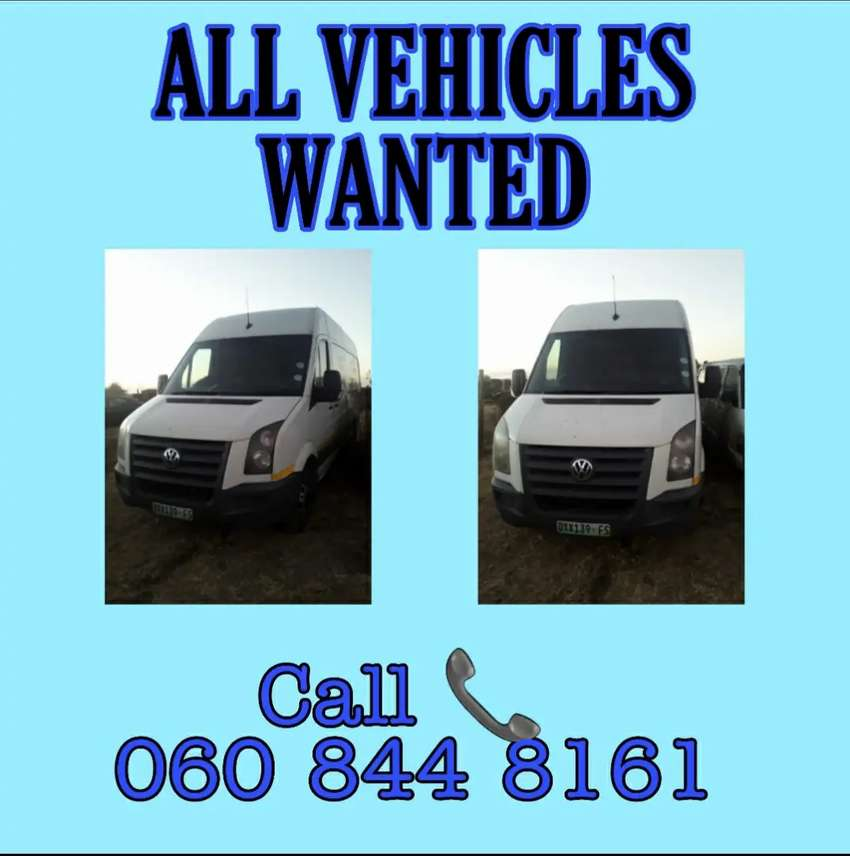 Used Second, third etc Hand vehicles wanted in any condition. 0