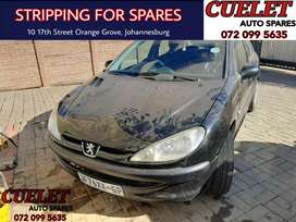 Peugeot 206 stripping for parts and Accessories