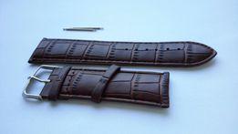 НОВИНКА! Ремень для мужских часов 26 мм Запасной Ремешок Поясок Кожзам