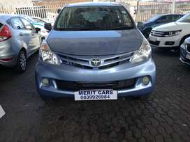 TOYOTA AVANZA 1.3  WITH 7SEATER