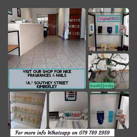 New shop open Kimberley Monday to Saturday, 5A Southern street