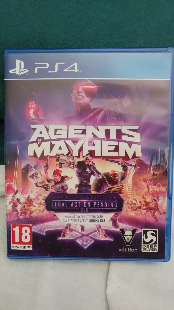 Agents of Mayhem PS4 0