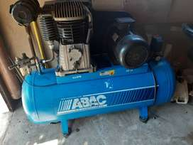 Abac 7.5kw Compressor for Urgent Sale , Perfect Condition