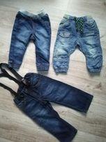Spodnie next, h&m, F&f r. 80