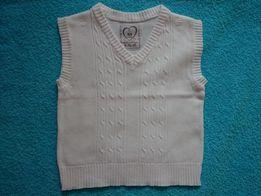 5 10 15 Kamizelka-pulower chłopięcy 80cm