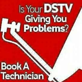 Dstv installation signal repairs TV wall mounting