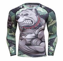 Koszulka Tshirt Termoaktywna Rashguard MMA NA SIŁOWNIE Pitbull roz. L