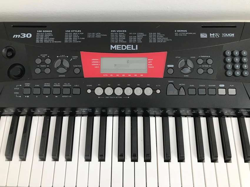 Medeli M30 keyboard with stand 0