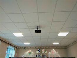 Подвесной потолок Армстронг в школьный класс. + Установка.