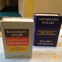 Słownik niemiecko-polski 2 szt.