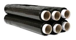 Folia stretch czarna 1,2 kg jak 1,5 23 mikrony stalPajeczno