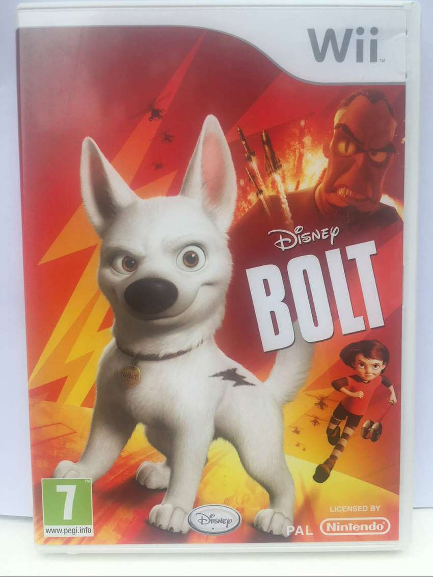 BOLT  (Nintendo Wii Game - by Disney Interactive Studios) 0