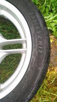 Резина шина колесо скат 235/45/17