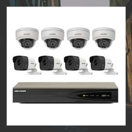 CCTV SYSTEM 8 channel network ip
