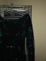 Cekinowa sukienka sylwester kameleon uni