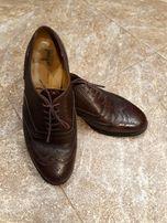 Туфли Van Bommel, р.41,стелька 26,5,кожа,цвет борд.красн.,б/у,сост.хор