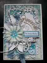 Kartki na Ślub Imieniny Urodziny Podziękowanie rocznica handmade