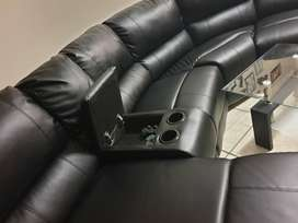 R12 000 NEG - Corner Recliner Couch  ( Barely used - less than 1 year)