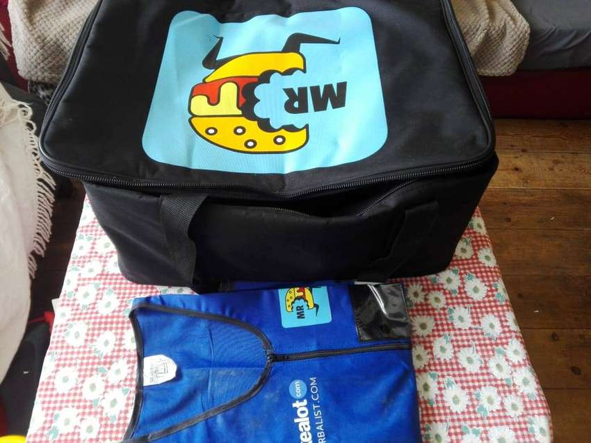Mr. D hotbox bag and Vest, new - R100 0