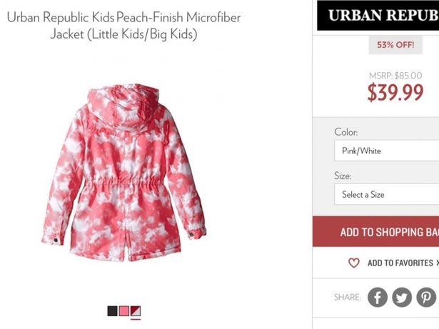Демисезонная курточка , куртка размер 3т ! новая с Америки ! Киев - изображение 2