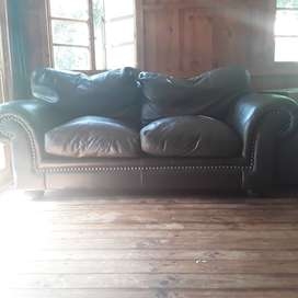 Leather 2.5 Seater Couch