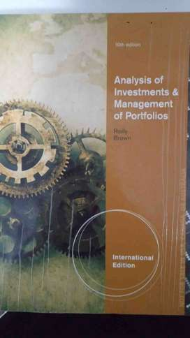Analysis of Investment and Management of Portfolios - Reilly Brown 10t