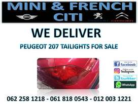 Peugeot 207 Taillights for sale