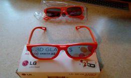 Okulary 3D LG Nowe 2 szt.