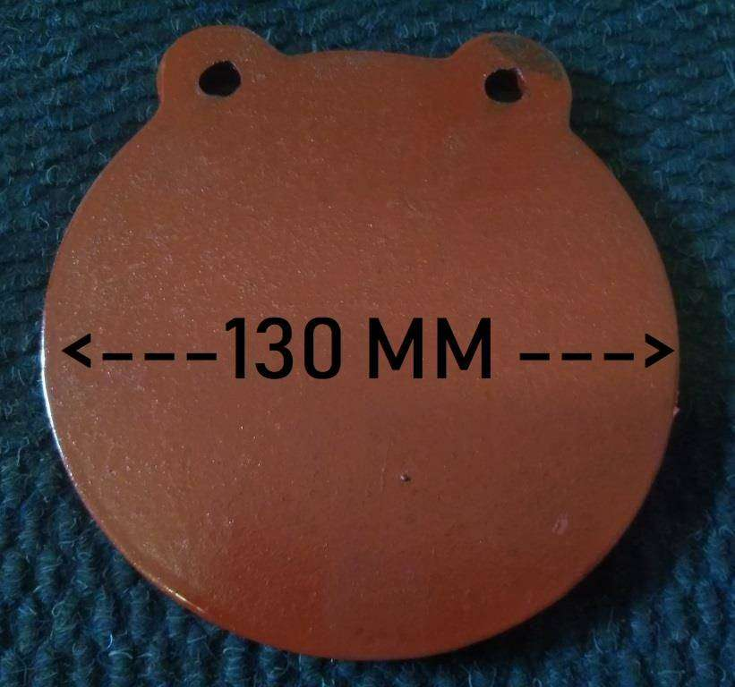 130MM Round Gong / Ghong Target NM500 10MM THICK 0