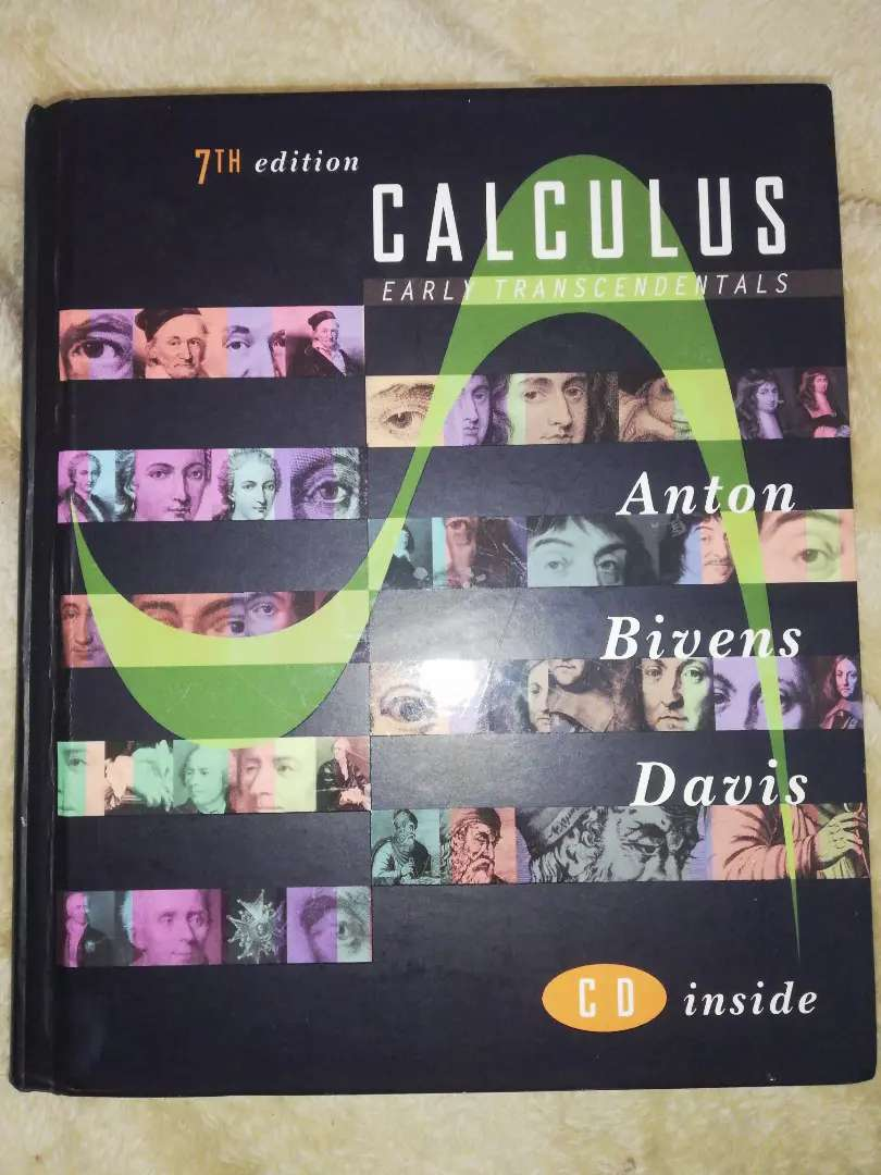 Calculus early transcendentals textbook 0