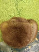 Шапка натуральный мех -андатра