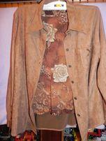 летний пиджак и блузка