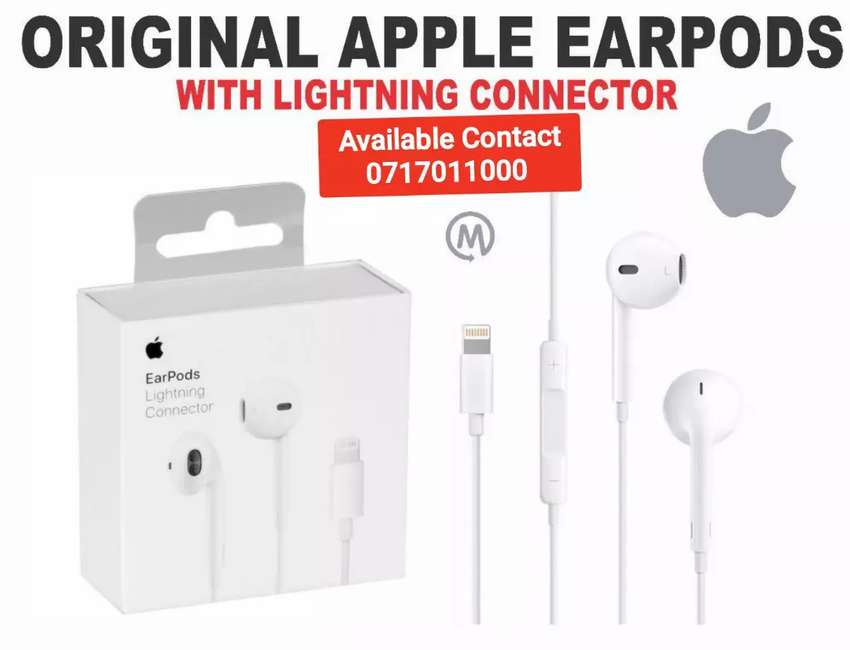 Original Apple Earpods With Lightning Connector 0
