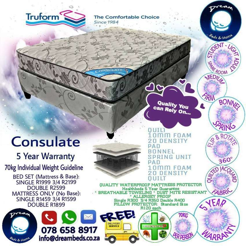 FREE DELIVERY - Truform Beds - Brand New 0