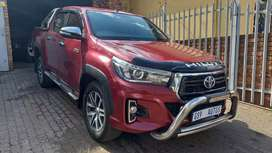 2018 Toyota Hilux 2.8 GD-6 Double Cab Raider Automatic for sale.