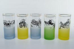 Набор бокалов с уникальной росписью
