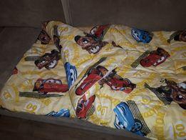 Детское шерстяное одеяло в сатине