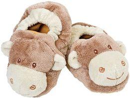 Теплые пинетки тапочки тапки с обезьянкой Моджо Suki gifts internation