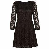 Платье на новый год xs 34-36 на худую гипюровое с рукавами рукавом