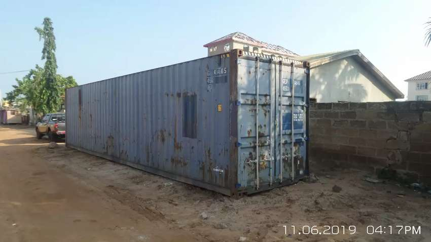 40 footer container for sale at spintex 0