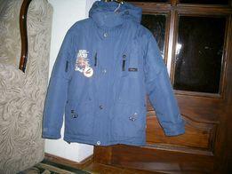 Теплая зимняя куртка с жилеткой Five Club на рост 146-152 см.