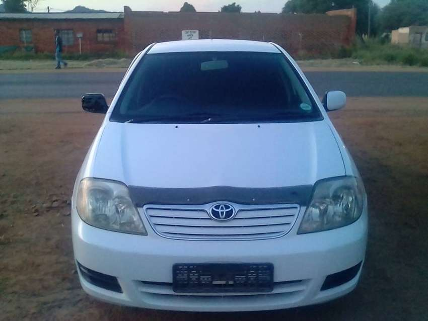 Toyota corolla 140i for sale 0