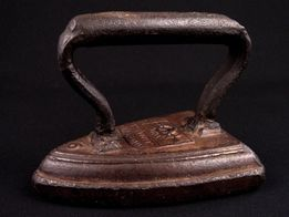Żelazko wiktoriańskie SALTER Silvester's Patent / England 1890~1900