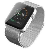 Image of Silver Milanese loop/belt for Apple Watch 43mm