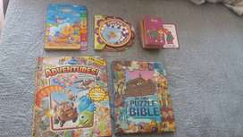 Children's story and educational books